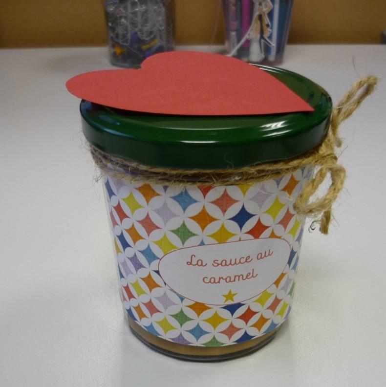 Pot de caramel délcieux